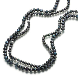 Amazing Grace Silver Pearl Necklace - Orchira Pearl Jewellery