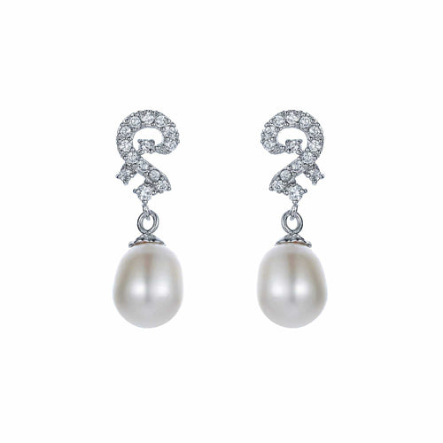 Ancient Riddle Pearl Earrings - Orchira Pearl Jewellery
