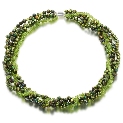 Blooming Olive Tree Pearl Necklace - Orchira Pearl Jewellery