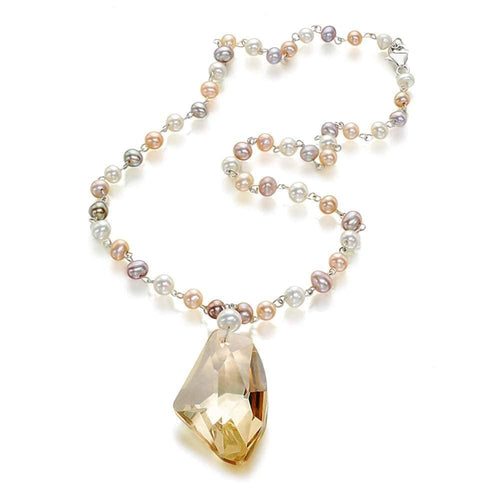 Bouncing Brilliance Pearl Necklace - Orchira Pearl Jewellery