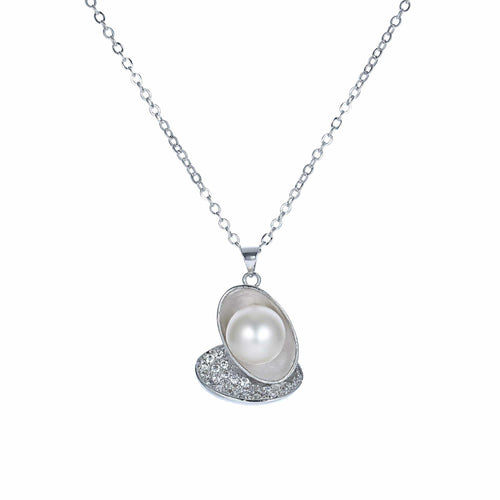Butterfly's Heart Pearl Pendant Necklace - Orchira Pearl Jewellery