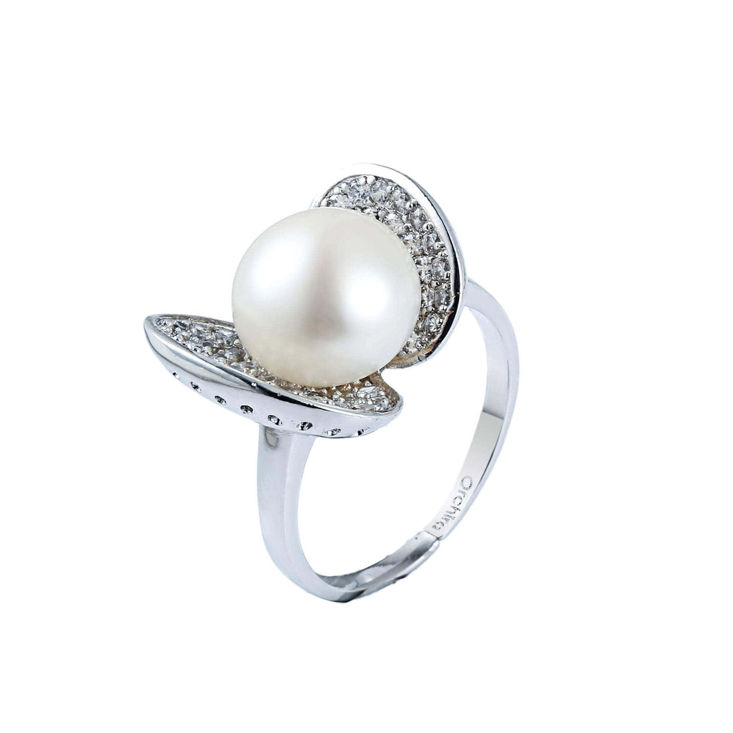 Butterfly's Heart Pearl Ring - Orchira Pearl Jewellery