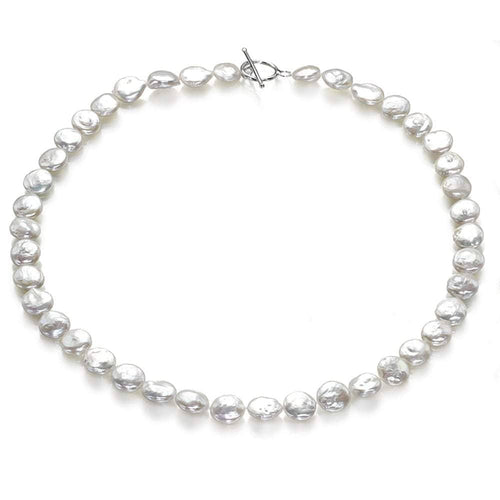 Button Frost Pearl Necklace - Orchira Pearl Jewellery
