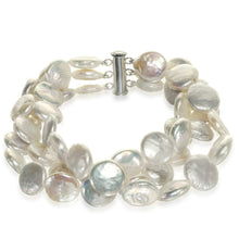 Load image into Gallery viewer, Coin Decadence Pearl Bracelet - Orchira Pearl Jewellery