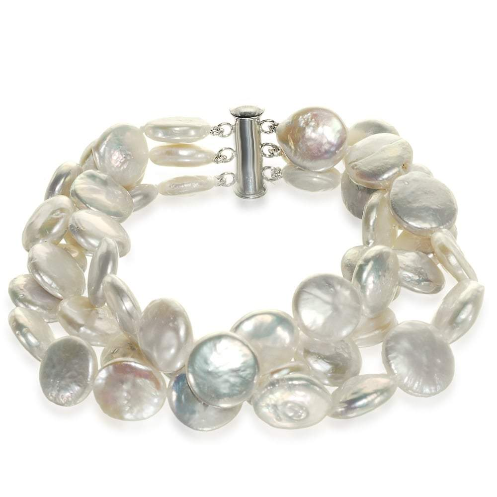 Coin Decadence Pearl Bracelet - Orchira Pearl Jewellery