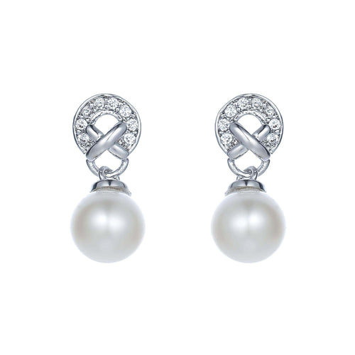 Eternal Kiss Pearl Earrings - Orchira Pearl Jewellery