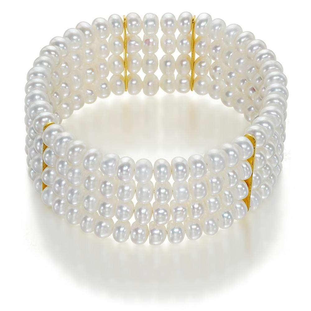 Evening at Windsor Pearl Bangle - Orchira Pearl Jewellery