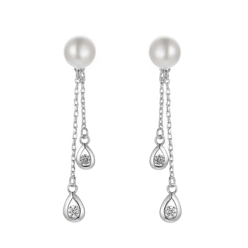 Mayfair Romance Pearl Earrings - Orchira Pearl Jewellery