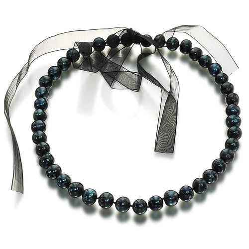 Midnight Sky Pearl Necklace - Orchira Pearl Jewellery