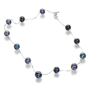 Oxford Beauty Black Pearl Necklace - Orchira Pearl Jewellery