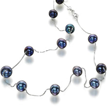Load image into Gallery viewer, Oxford Beauty Black Pearl Necklace - Orchira Pearl Jewellery