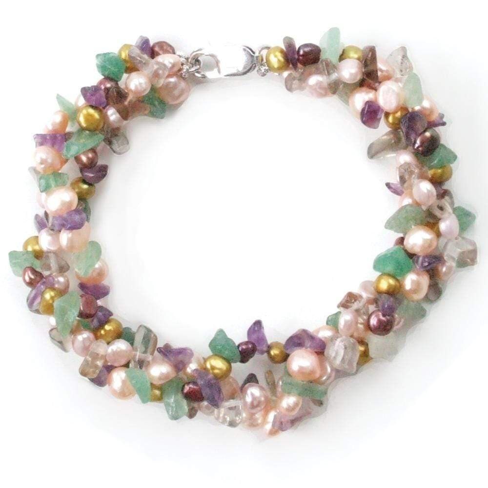 Autumn Fruit Pearl Bracelet - Orchira Pearl Jewellery