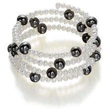 Load image into Gallery viewer, Sunshine of Santorini Pearl Bangle