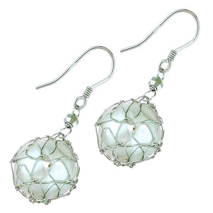 Yokohama Harbour Pearl Earrings - Orchira Pearl Jewellery
