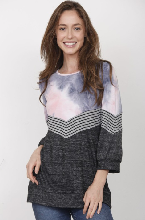 Out of This World 3/4 Sleeve Top