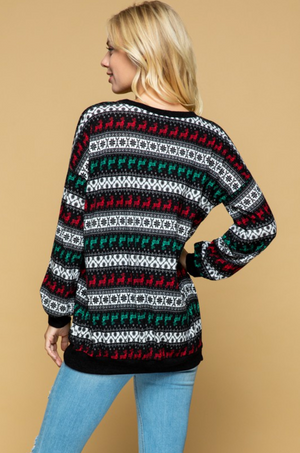 Dashing Through The Snow Sweater
