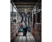 Dickies WD4930 Grafter Duo Tone Cordura Knee Pad Work Trousers Royal Blue, KNEE PAD TROUSERS, Dickies, Workwear Nation Ltd