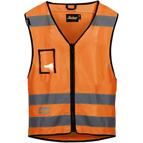 Snickers 9153 Hi-Vis Vest, Class 2 Various Colours, SAFETY VESTS, Snickers, Workwear Nation Ltd