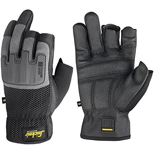 Snickers 9586 Power Open Gloves, GLOVES, Snickers, Workwear Nation Ltd