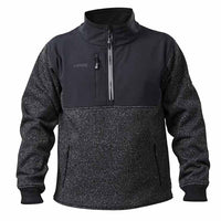 Apache Workwear ATS Water Resistant Quarter Zipped Knit Sweater, SOFTSHELL JACKETS, Apache, Workwear Nation Ltd