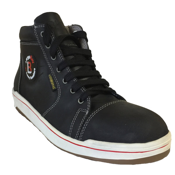 Buckler Victory Black Safety Hi-Top Trainer Boot, SAFETY TRAINERS, Buckler, Workwear Nation Ltd