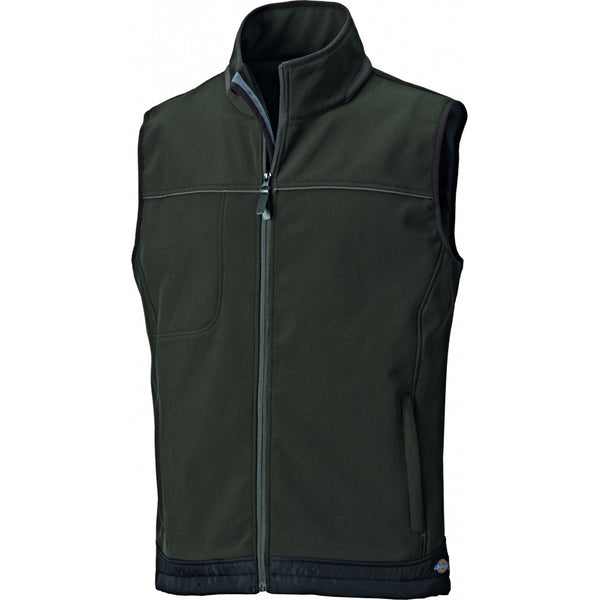 Dickies Adalson Softshell Bodywarmer Gilet Waterproof Breathable