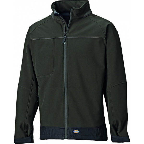 Dickies Combrook Softshell Jacket Waterproof Breathable Shooting Work, SOFTSHELL JACKETS, Dickies, Workwear Nation Ltd