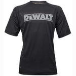 Dewalt Easton Work Performance T-Shirt Black, T-SHIRTS, Dewalt, Workwear Nation Ltd