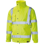 Dickies High Visibility Bomber Jacket Coat SA22050 Various Colours, HI-VIS JACKETS & COATS, Dickies, Workwear Nation Ltd