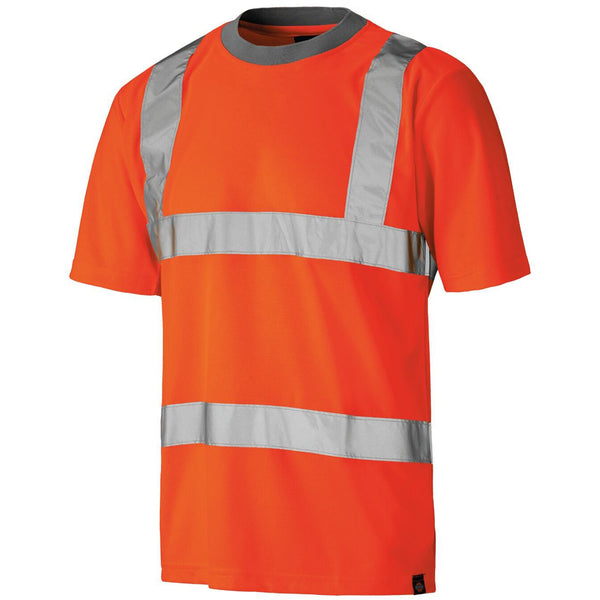Dickies High Visibility Safety Work T-Shirt SA22080, HI-VIS T-SHIRTS, Dickies, Workwear Nation Ltd