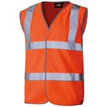 Dickies Hi Vis Safety Waistcoat Vest SA30310, SAFETY VESTS, Dickies, Workwear Nation Ltd