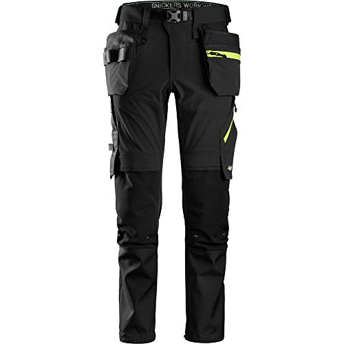 Snickers 6940 FlexiWork, Stretch Work Knee Pad Holster Pocket Trousers Various Colours, KNEE PAD TROUSERS, Snickers, Workwear Nation Ltd