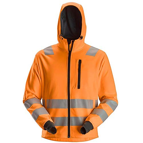 Snickers 8039 AllroundWork Hi-Vis FZ Hoodie CL2/CL3 Various Colours, HI-VIS JACKETS & COATS, Snickers, Workwear Nation Ltd