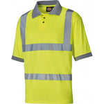 Dickies High Visibility Safety Polo Shirt T-Shirt SA22075 Various Colours, HI-VIS T-SHIRTS, Dickies, Workwear Nation Ltd