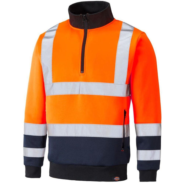 Dickies Hi Vis Two Tone Sweat Jumper SA22092 Various Colours