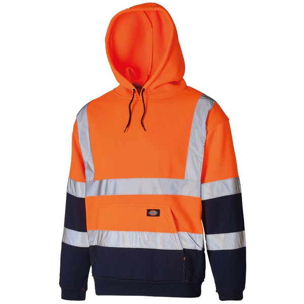 Dickies Hi-Vis Two Tone Hoodie Sweatshirt SA22095 Various Colours