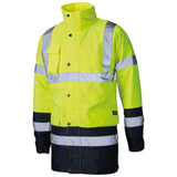 Dickies SA7004 Hi Vis Two Tone Waterproof Jacket Various Colours, HI-VIS JACKETS & COATS, Dickies, Workwear Nation Ltd