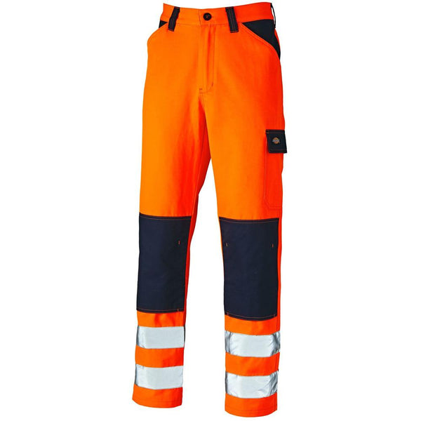 Dickies Everyday Hi Vis Work Trousers SA24/7 Various Colours, HI-VIS TROUSERS, Dickies, Workwear Nation Ltd
