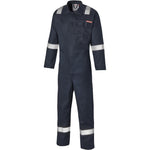 Dickies FR24/7TP Everyday Flame Retardant Taped Coverall Navy Blue, FR/Arc Protection, Dickies, Workwear Nation Ltd
