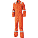 Dickies FR5401 Lightweight Pyrovatex Coverall, Flame Retardant Boiler Suit Red or Orange