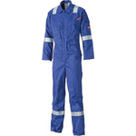 Dickies FR5401 Lightweight Pyrovatex Coverall, Flame Retardant Boiler Suit Royal Blue or Navy, FR/Arc Protection, Dickies, Workwear Nation Ltd