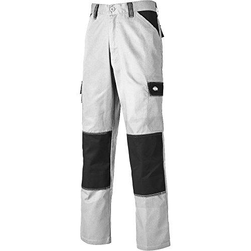 Dickies ED24/7 Everyday Workwear Knee Pad Trouser White/Grey