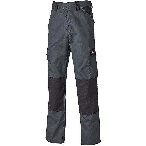 Dickies ED24/7 Everyday Workwear Kneepad Trousers Grey/Black, KNEE PAD TROUSERS, Dickies, Workwear Nation Ltd