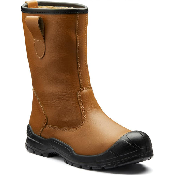 Dickies Dixon Lined Safety Work Rigger Boot FA23350S, RIGGER BOOTS, Dickies, Workwear Nation Ltd