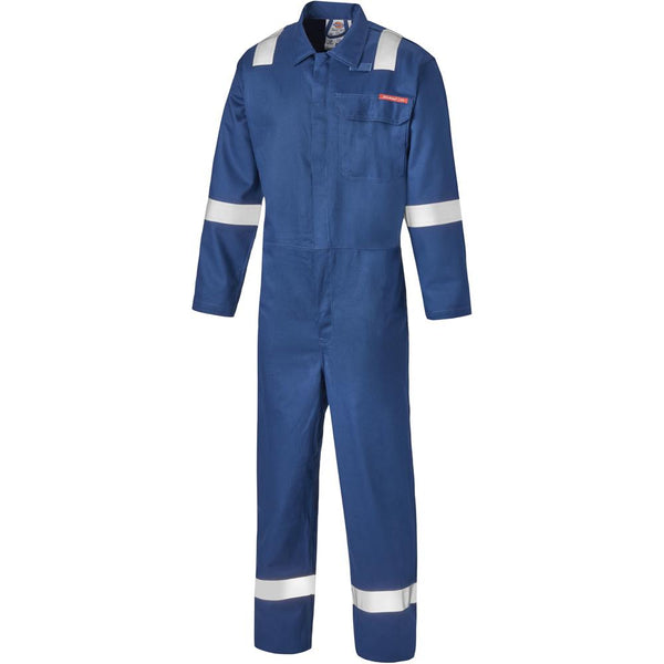 Dickies FR24/7TP Everyday Flame Retardant Taped Coverall Royal Blue, FR/Arc Protection, Dickies, Workwear Nation Ltd