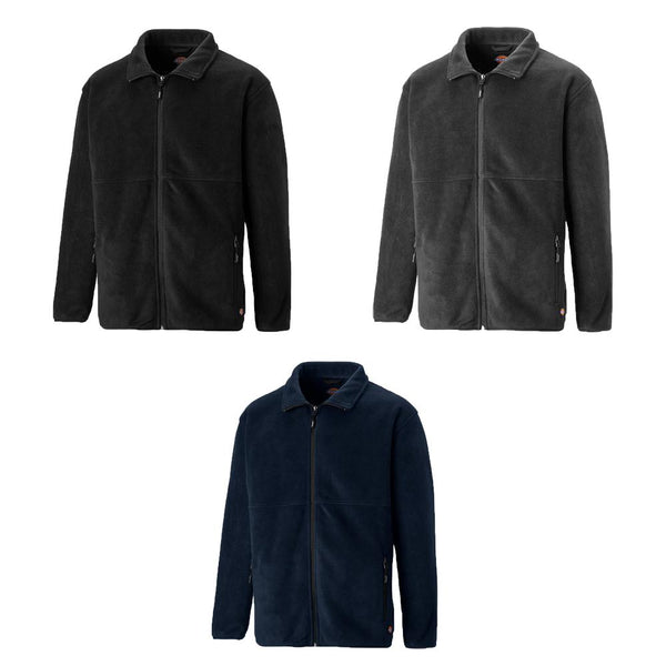 Dickies Oakfield Full Zip Fleece Jacket JW83015 Various Colours, FLEECE CLOTHING, Dickies, Workwear Nation Ltd