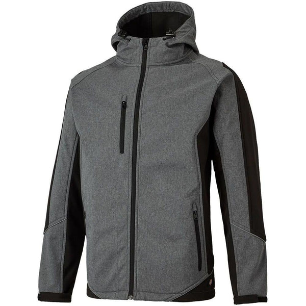 Dickies Wakefield Reflective Soft Shell Waterproof Jacket JW7017, SOFTSHELL JACKETS, Dickies, Workwear Nation Ltd
