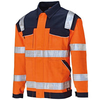 Dickies Industry Hi-Vis Work Jacket Coat SA30015 Various Colours, HI-VIS JACKETS & COATS, Dickies, Workwear Nation Ltd