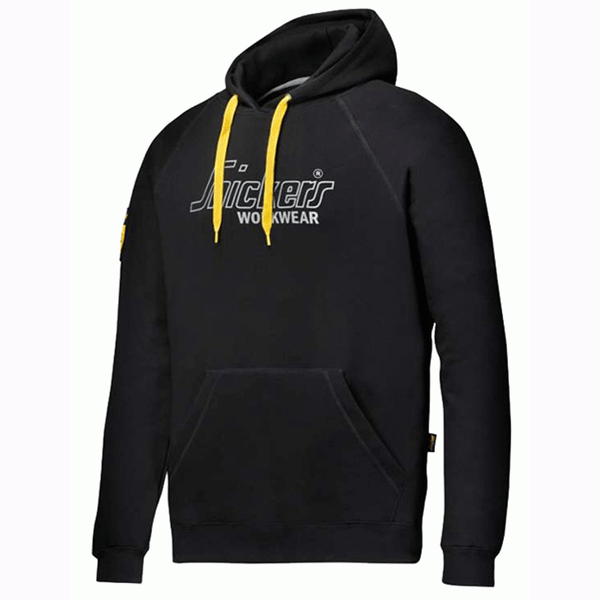 Snickers Black 40th Anniversary Work Hoodie Sweatshirt, HOODIES, Snickers, Workwear Nation Ltd