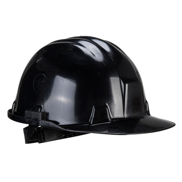 Portwest Workbase Safety Helmet Black PS51 Various Colours, HARD HATS & ACCESSORIES, Portwest, Workwear Nation Ltd